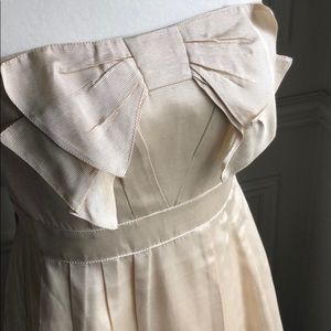 Anthropologie Sine Dress with Bow Detail